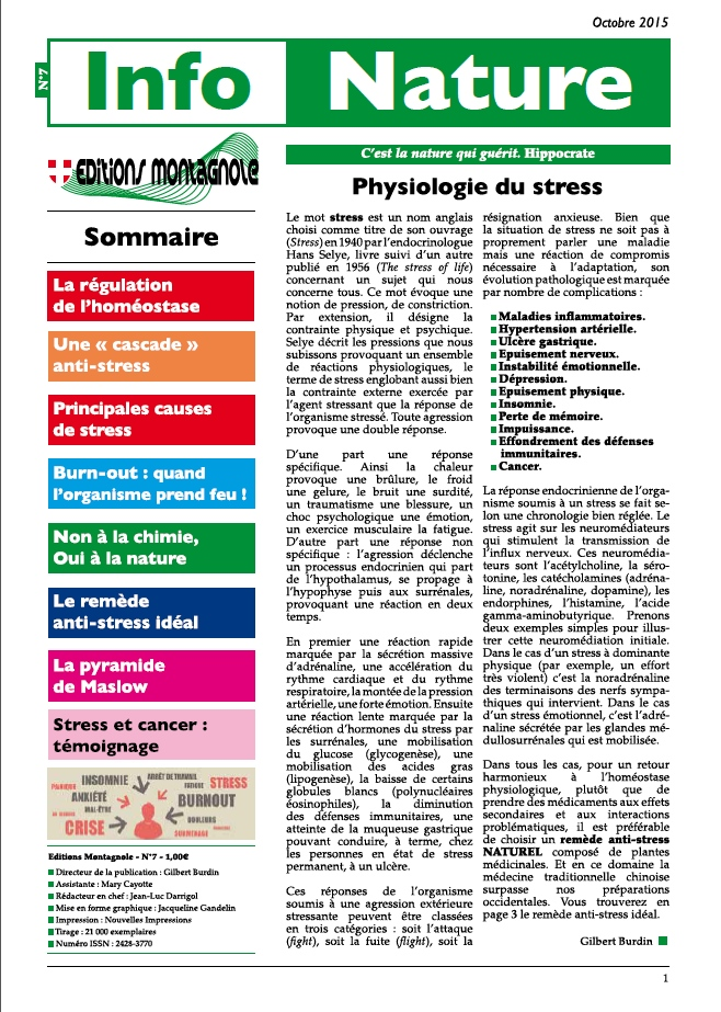 Physiologie du stress